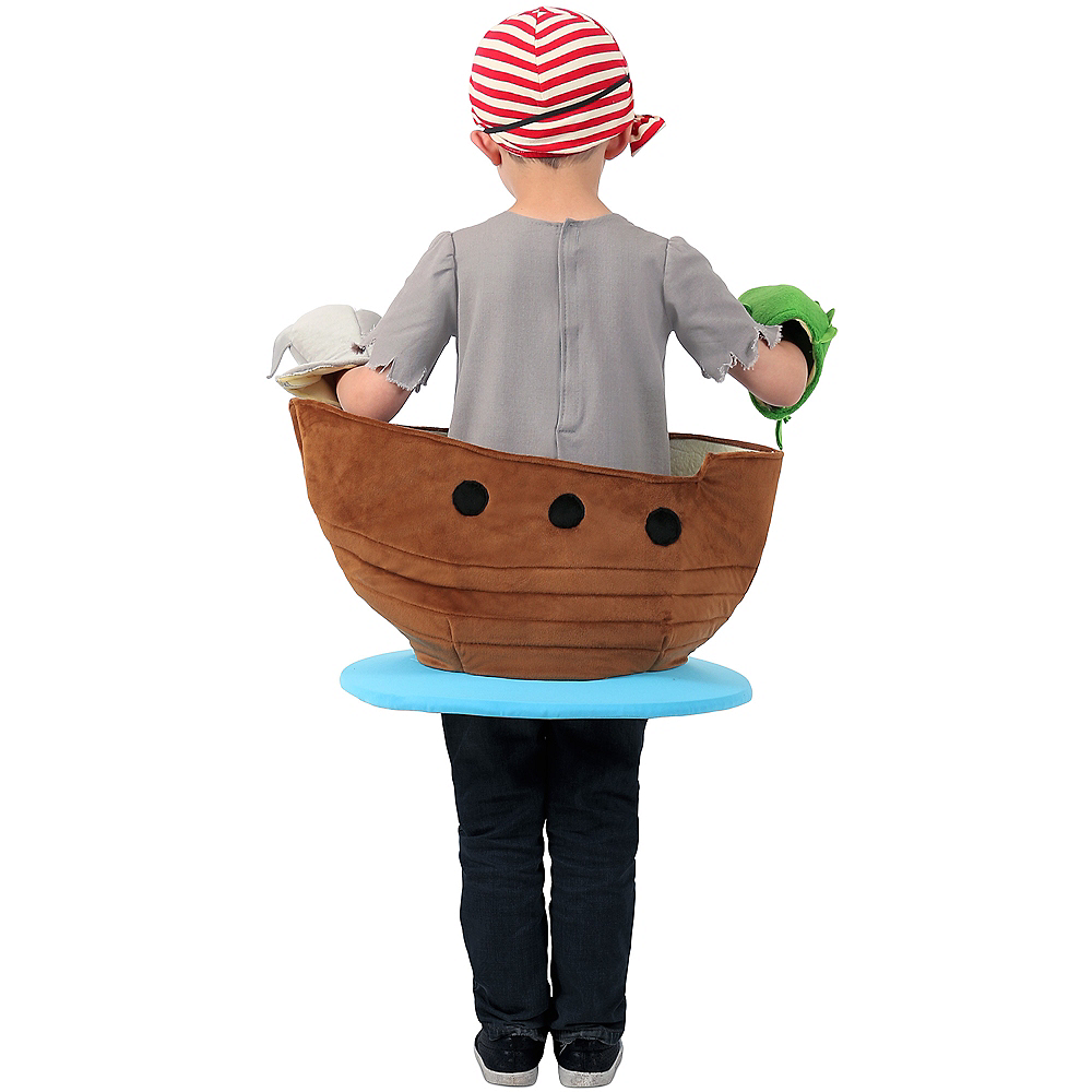 Nav Item for Child Pirate Ship Costume Image #2