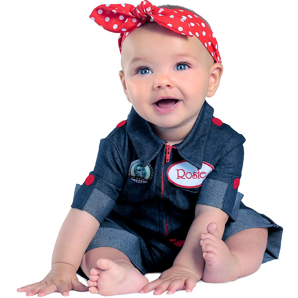 Baby Rosie the Riveter Costume Image #1
