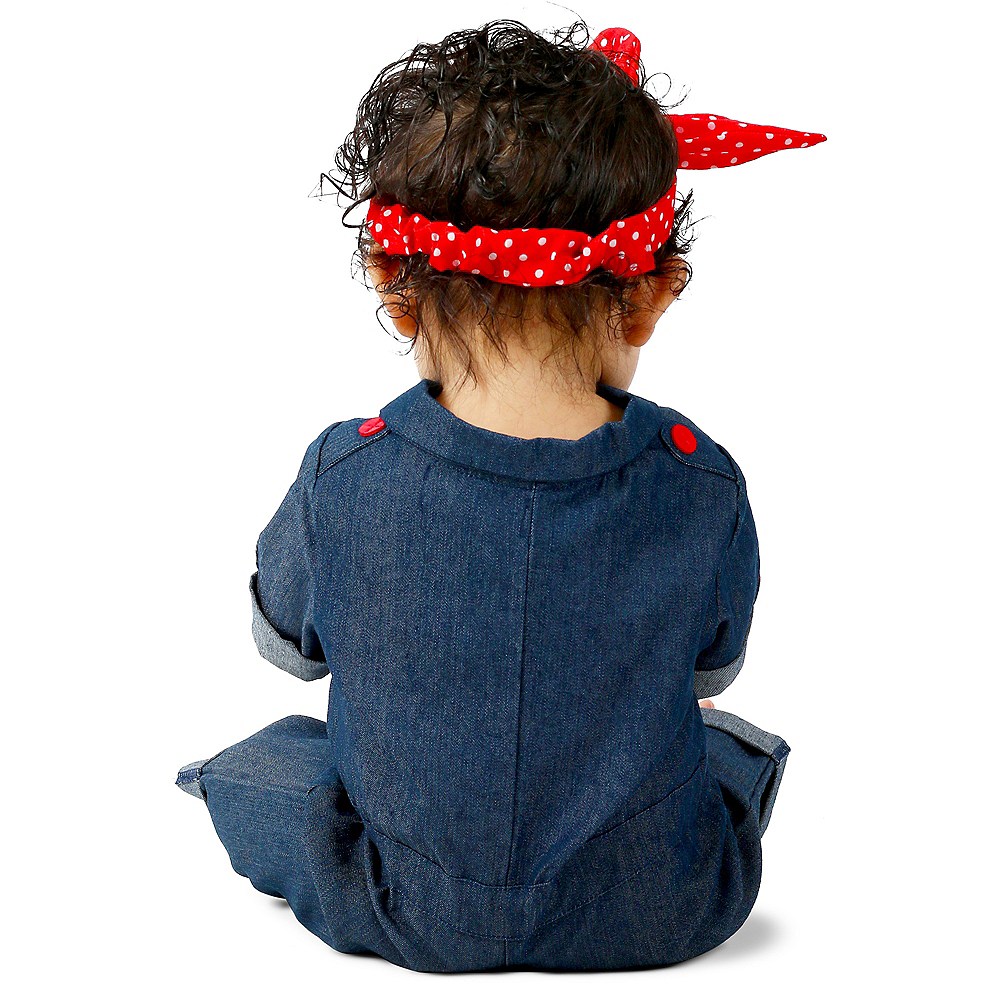 Baby Rosie the Riveter Costume Image #2