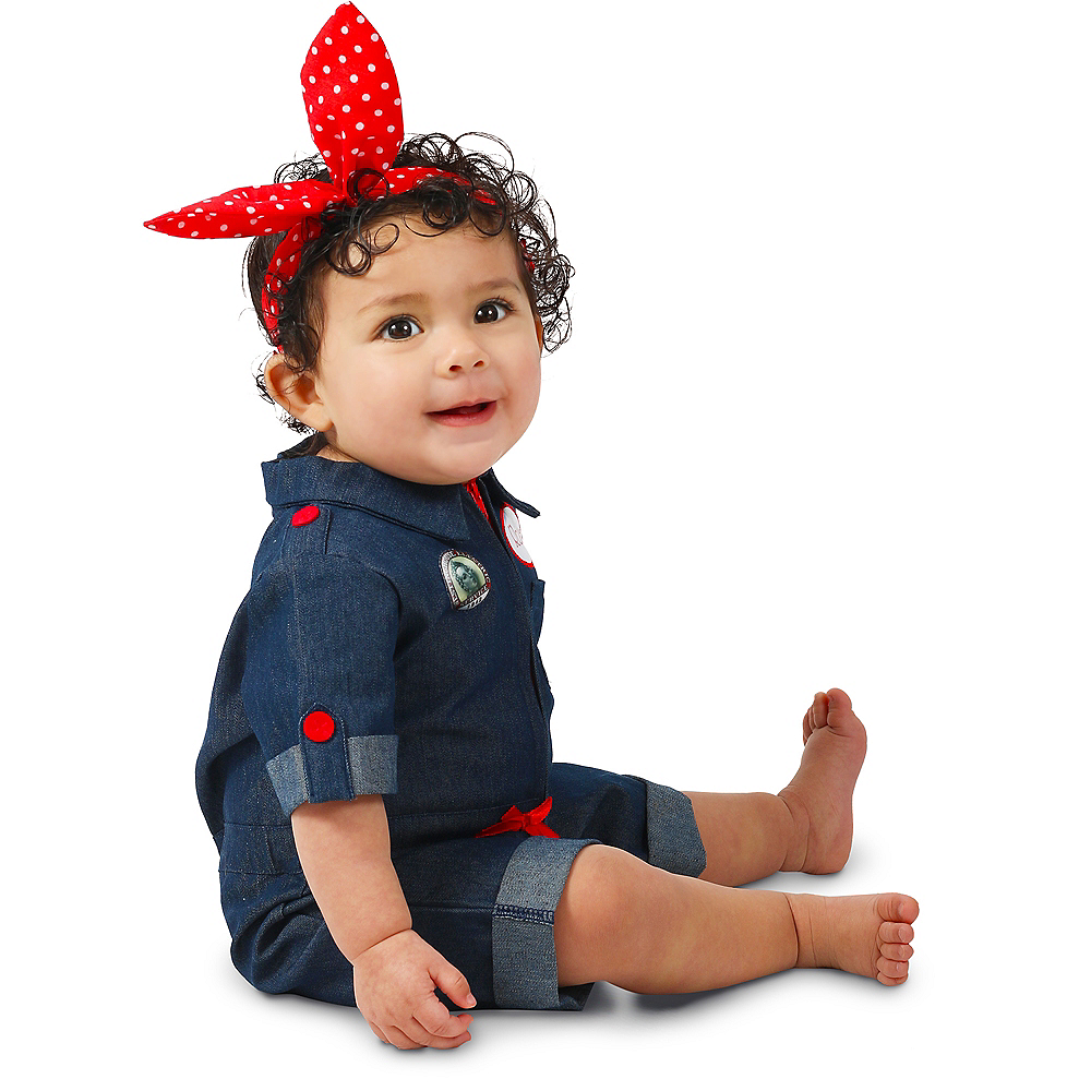 Baby Rosie the Riveter Costume Image #3