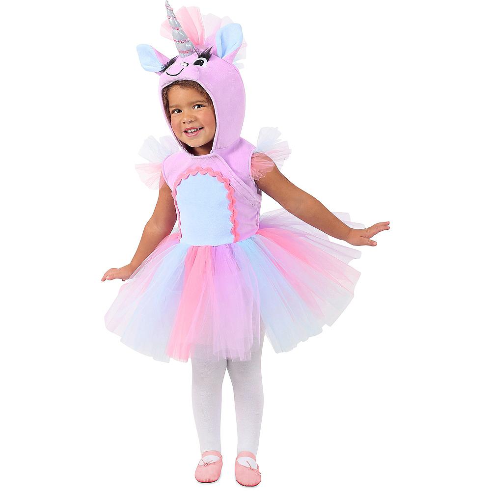 Baby Pastel Unicorn Costume Image #1