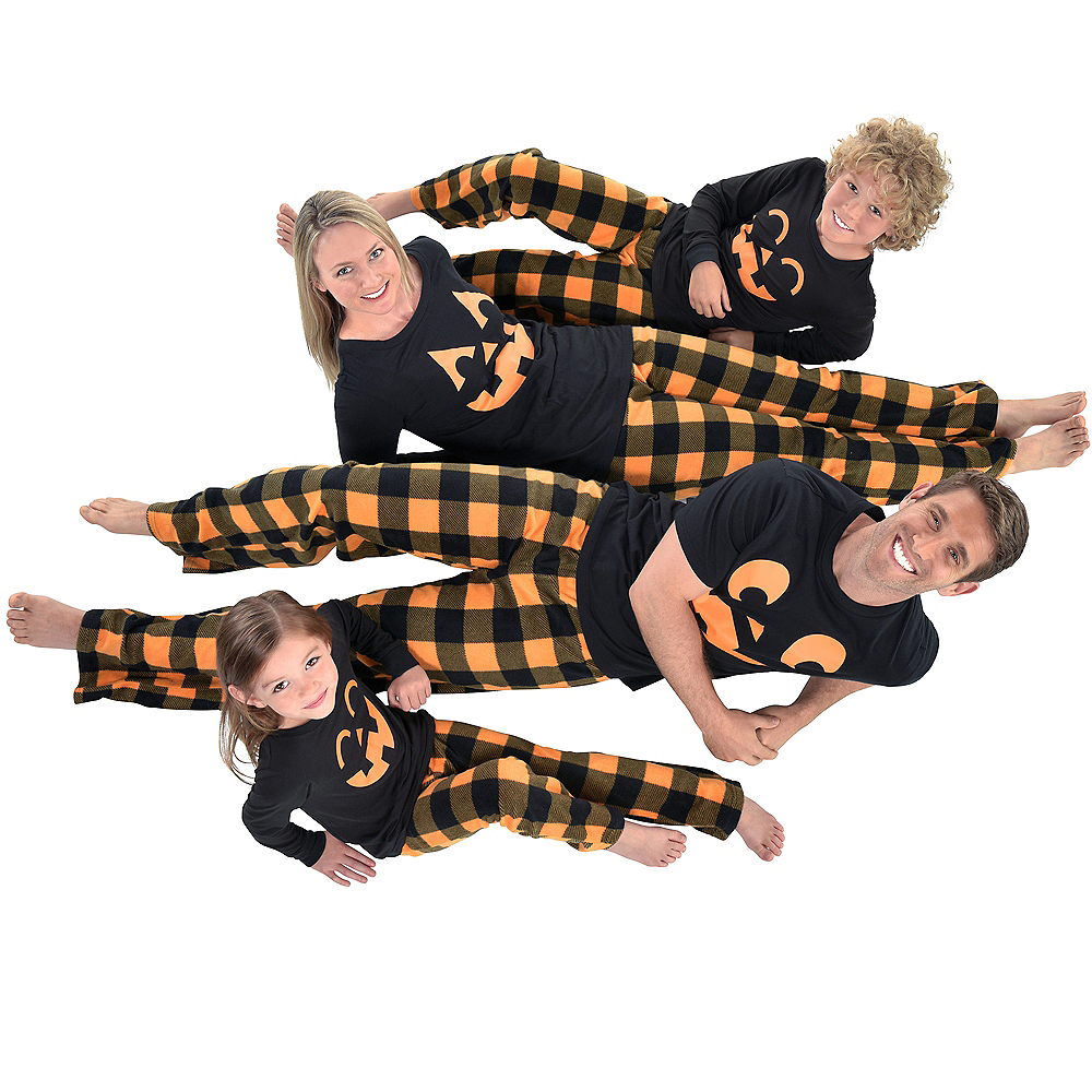 Nav Item for Womens Jack-o'-Lantern Pajamas Image #4