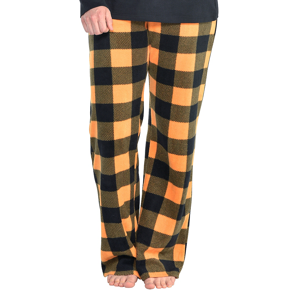Nav Item for Womens Jack-o'-Lantern Pajamas Image #5