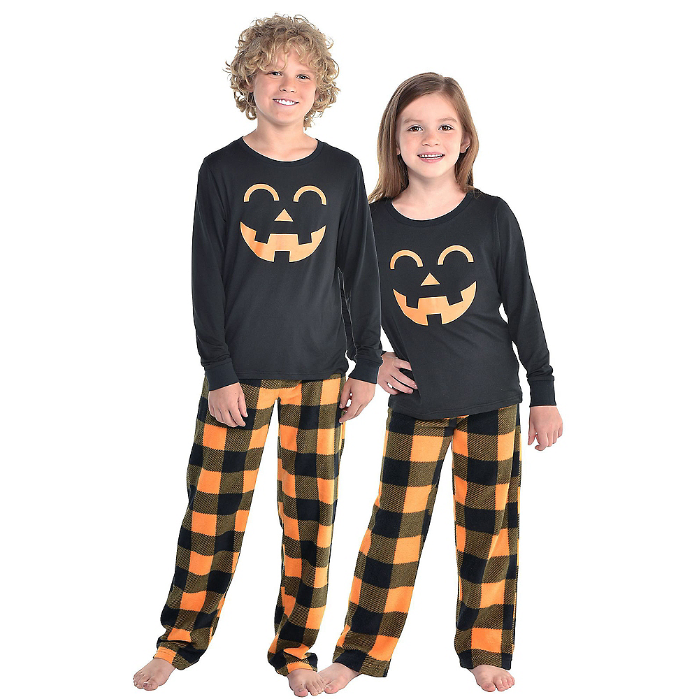 Child Jack-o'-Lantern Pajamas Image #1