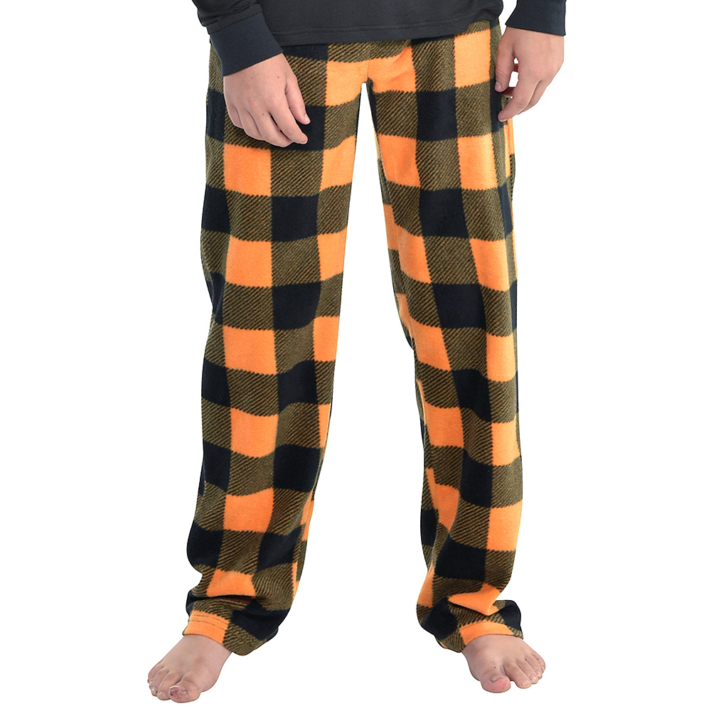 Child Jack-o'-Lantern Pajamas Image #5