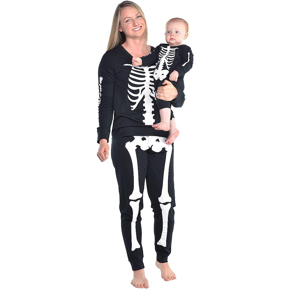 Womens Skeleton Pajamas Image #2