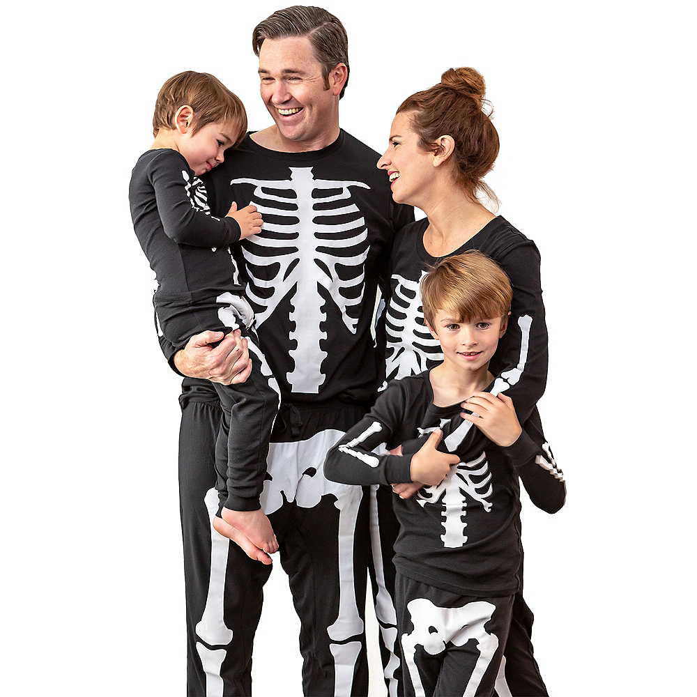 Womens Skeleton Pajamas Image #7