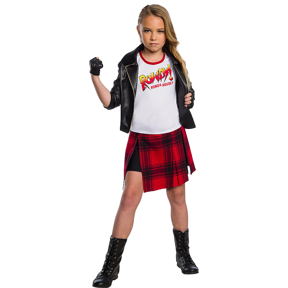 Child Rowdy Ronda Rousey Costume - WWE Image #1