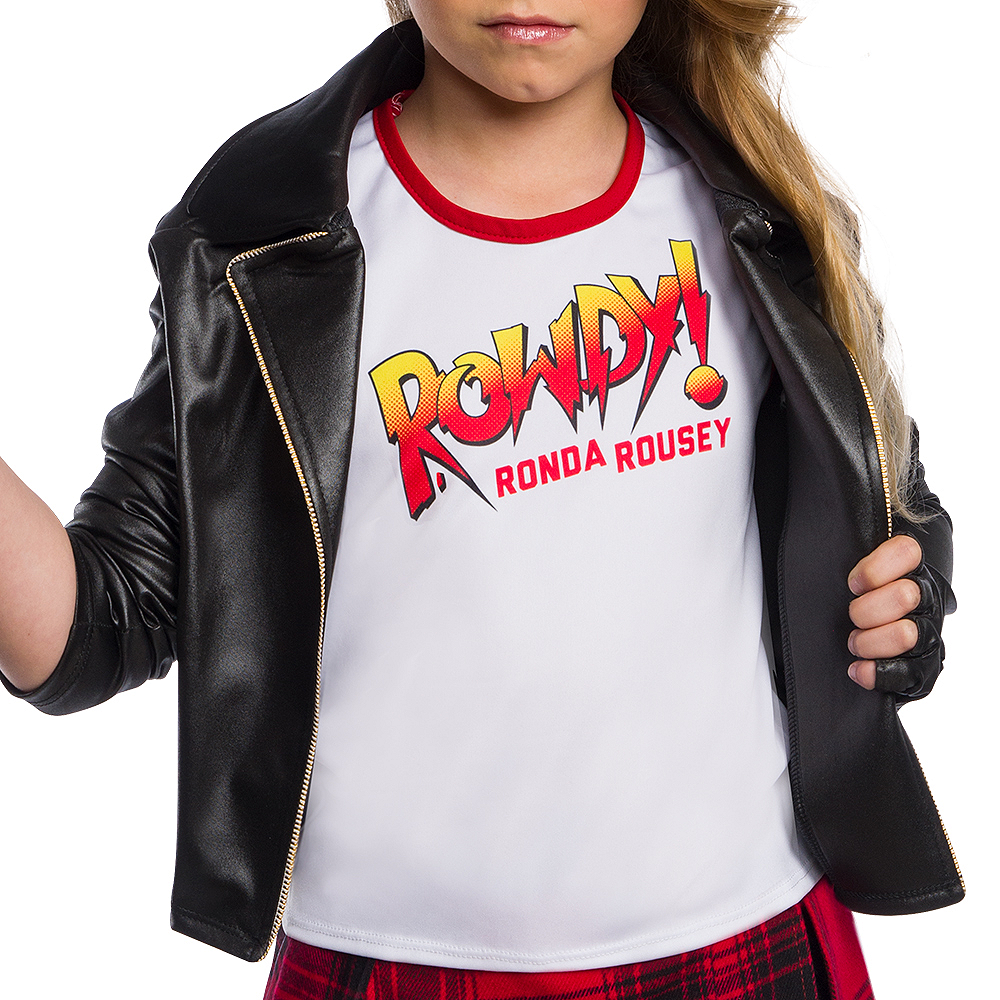 Nav Item for Child Rowdy Ronda Rousey Costume - WWE Image #2