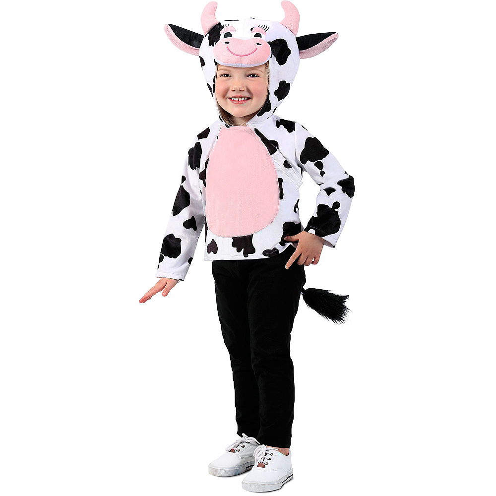 Toddler Cow Hoodie Image #1
