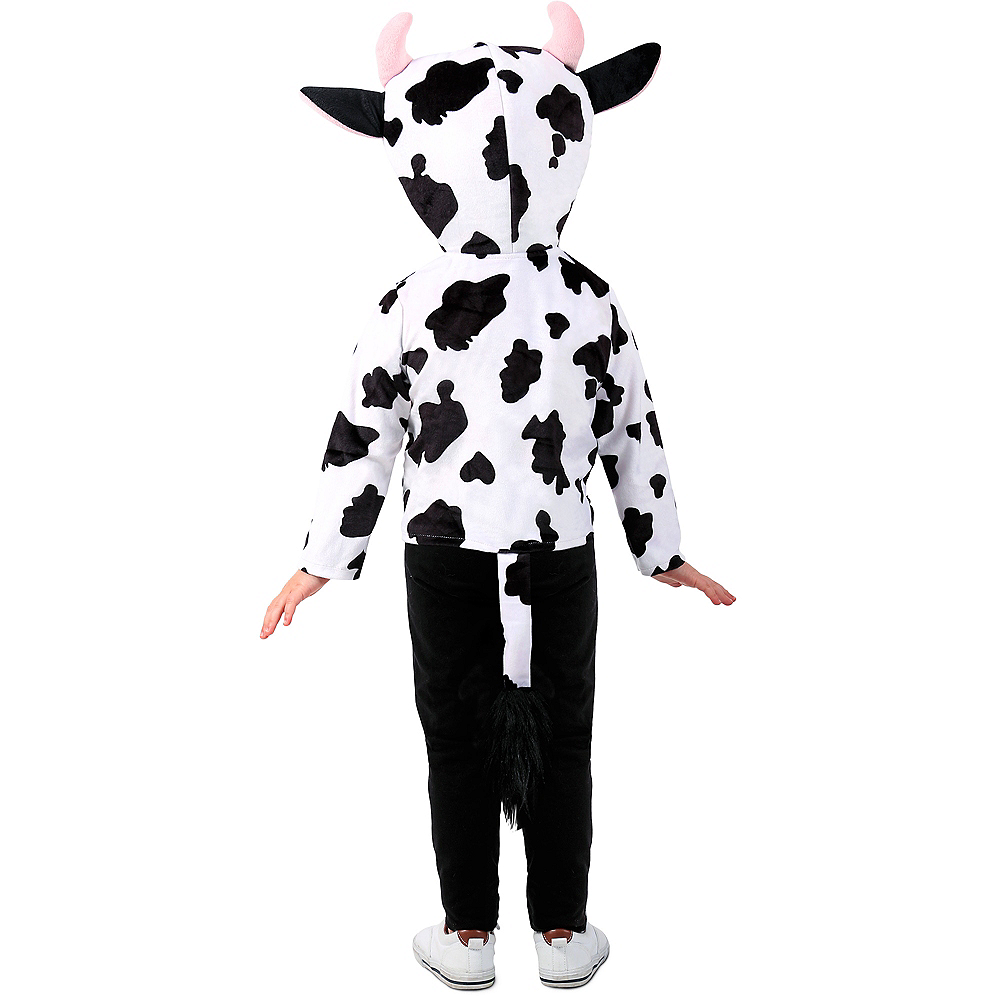 Toddler Cow Hoodie Image #3