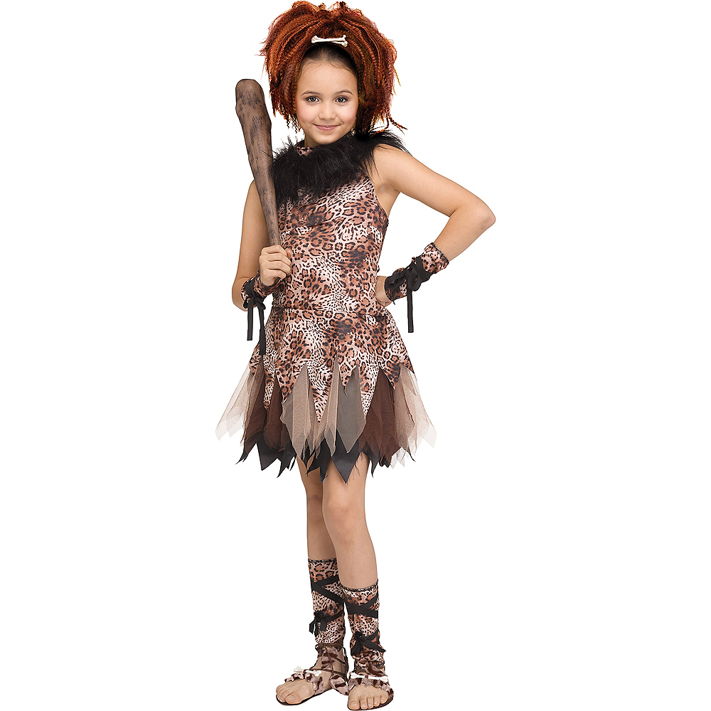 Child Cave Cutie Costume Image #1