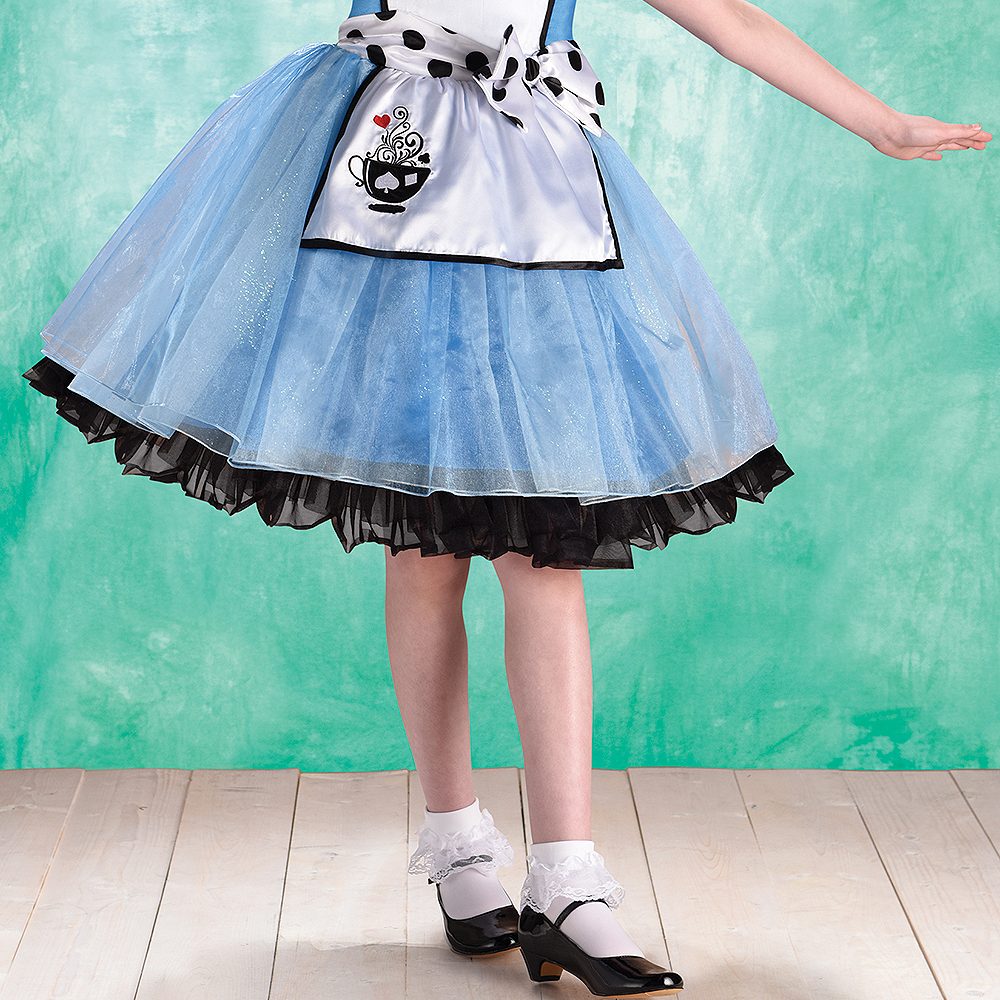 Child Curious Alice Costume Image #4