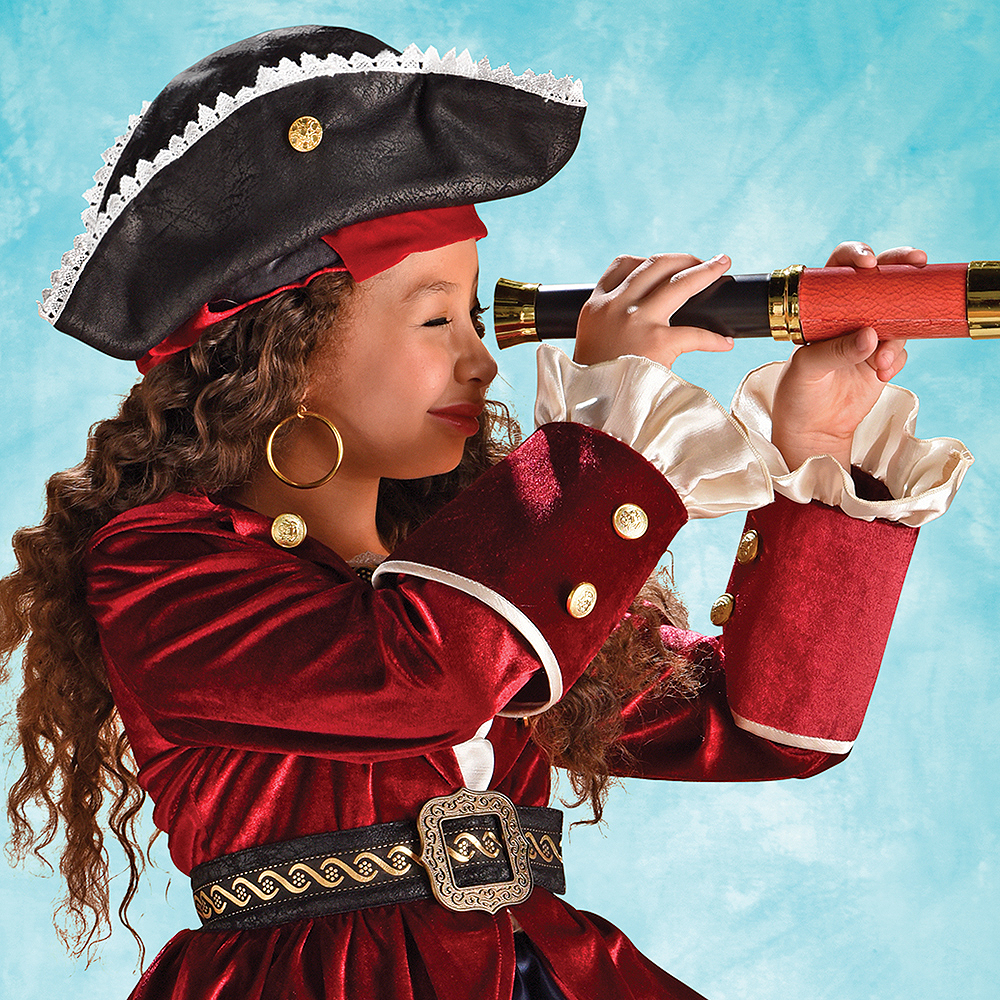 Nav Item for Child Dazzling Pirate Costume Image #3