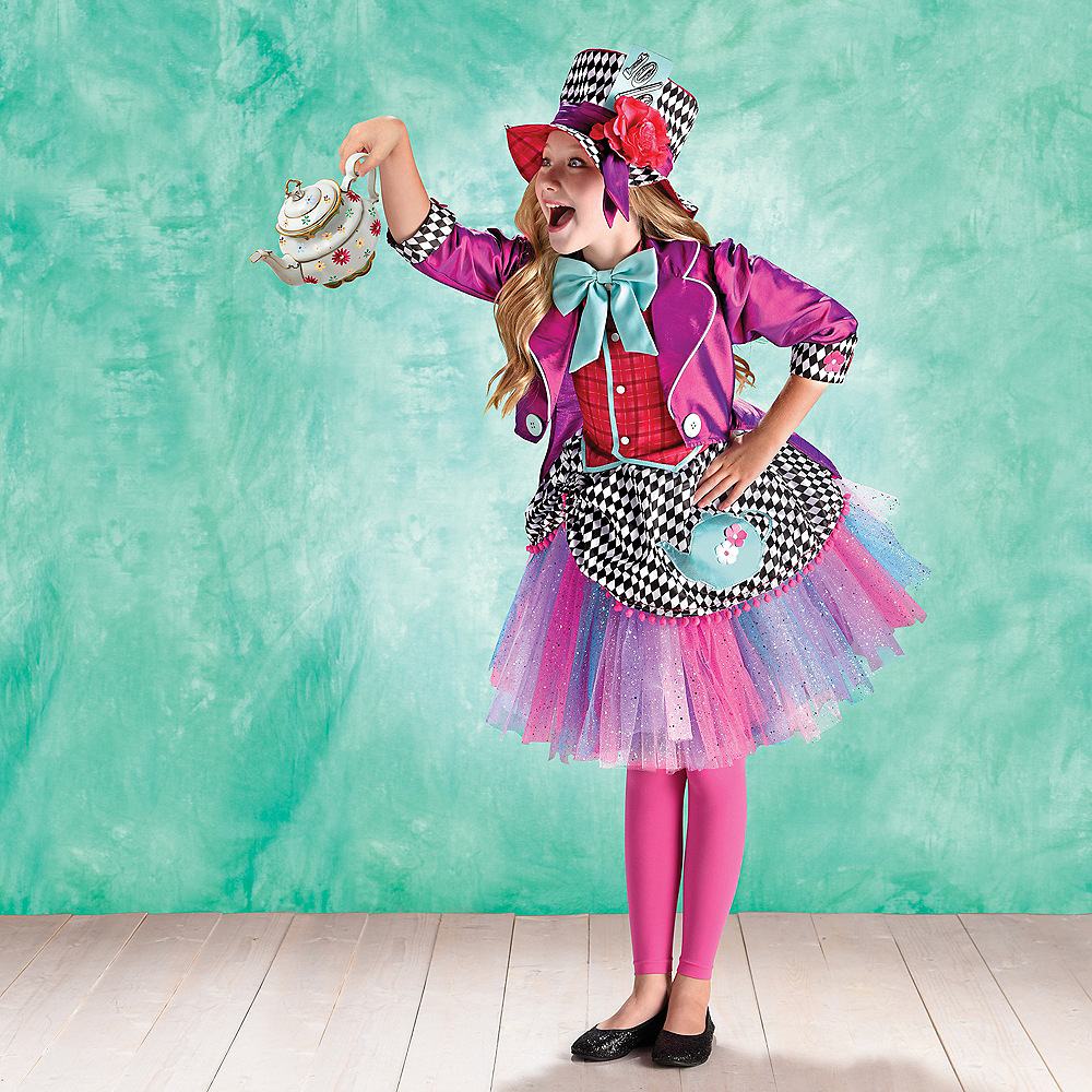 Child Eccentric Hatter Costume Image #1