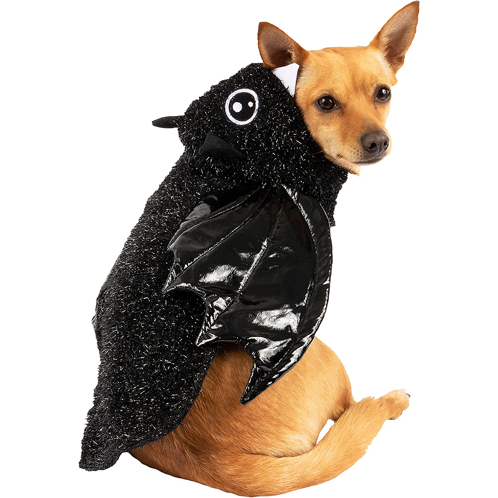 Black Bat Dog Costume Image #1