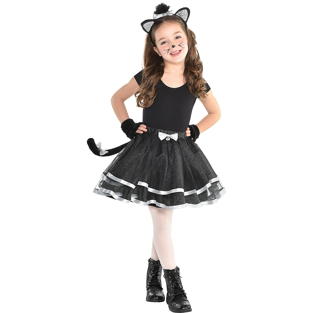 Child Once Upon A Tutu Cat Costume Accessory Kit Image #1