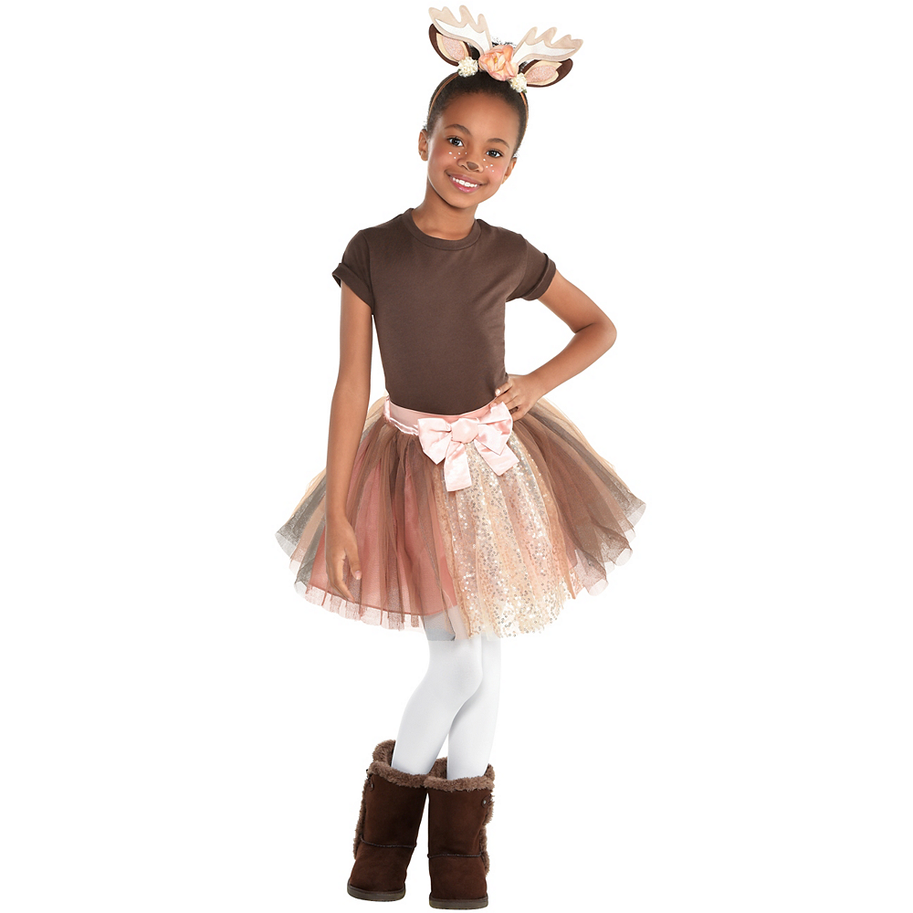 Child Once Upon A Tutu Fawn Costume Accessory Kit Image #1