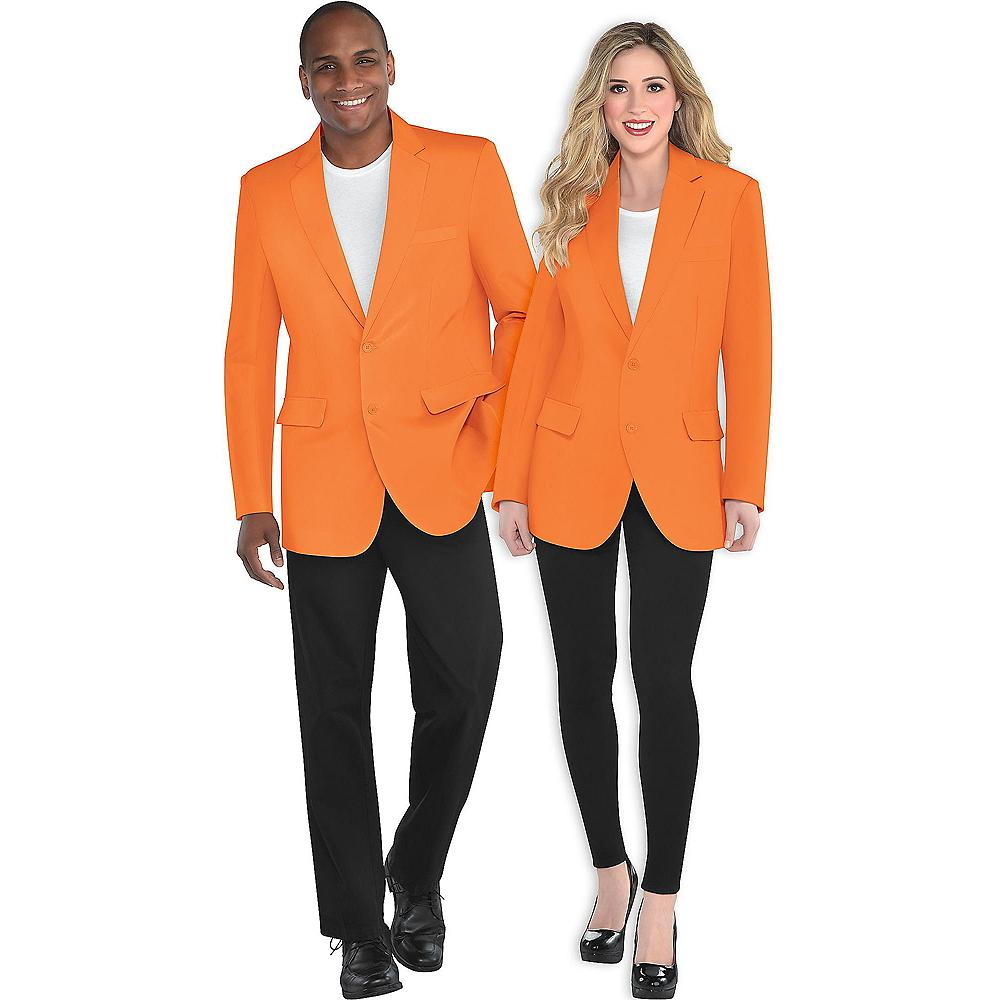 Adult Orange Blazer Image #1