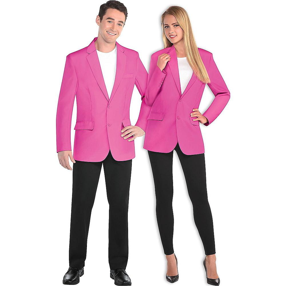 Adult Pink Blazer Image #1
