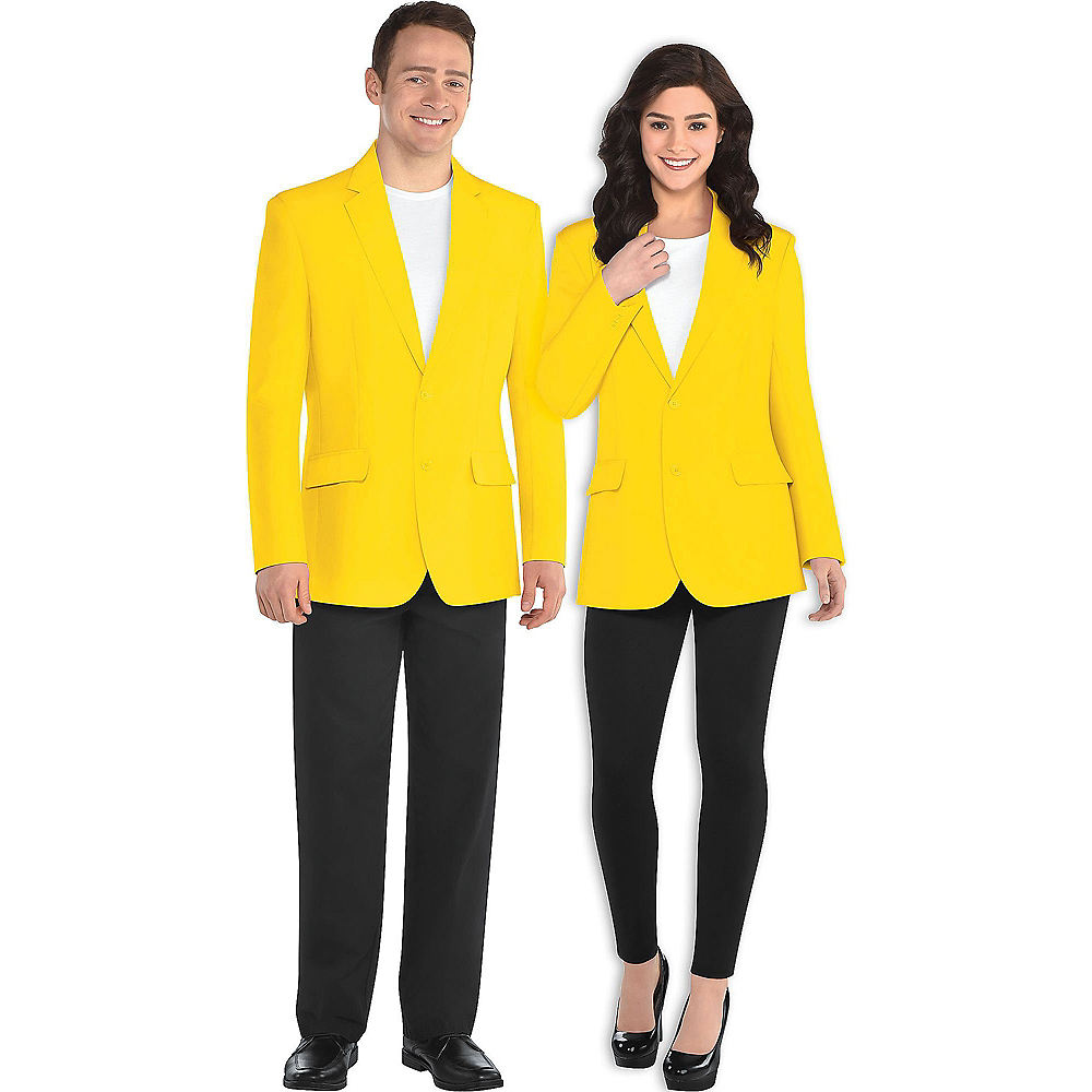 Nav Item for Adult Yellow Blazer Image #1