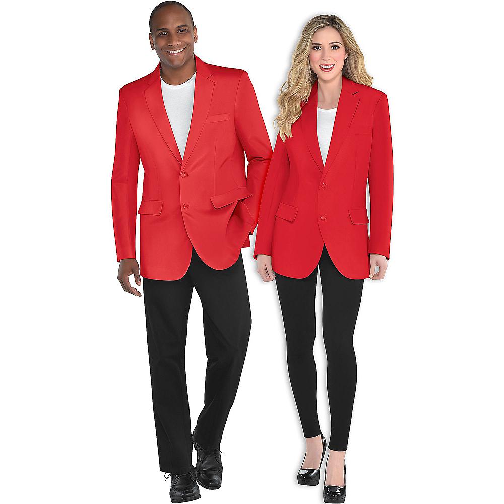Adult Red Blazer Image #1