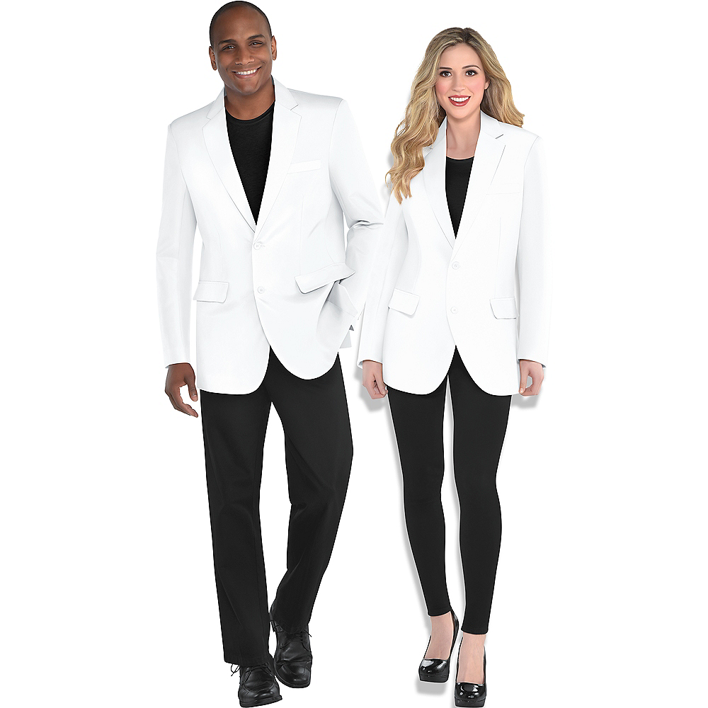 Nav Item for Adult White Blazer Image #1