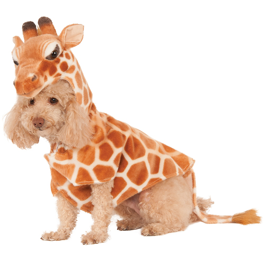 Nav Item for Giraffe Hoodie Dog Costume Image #1