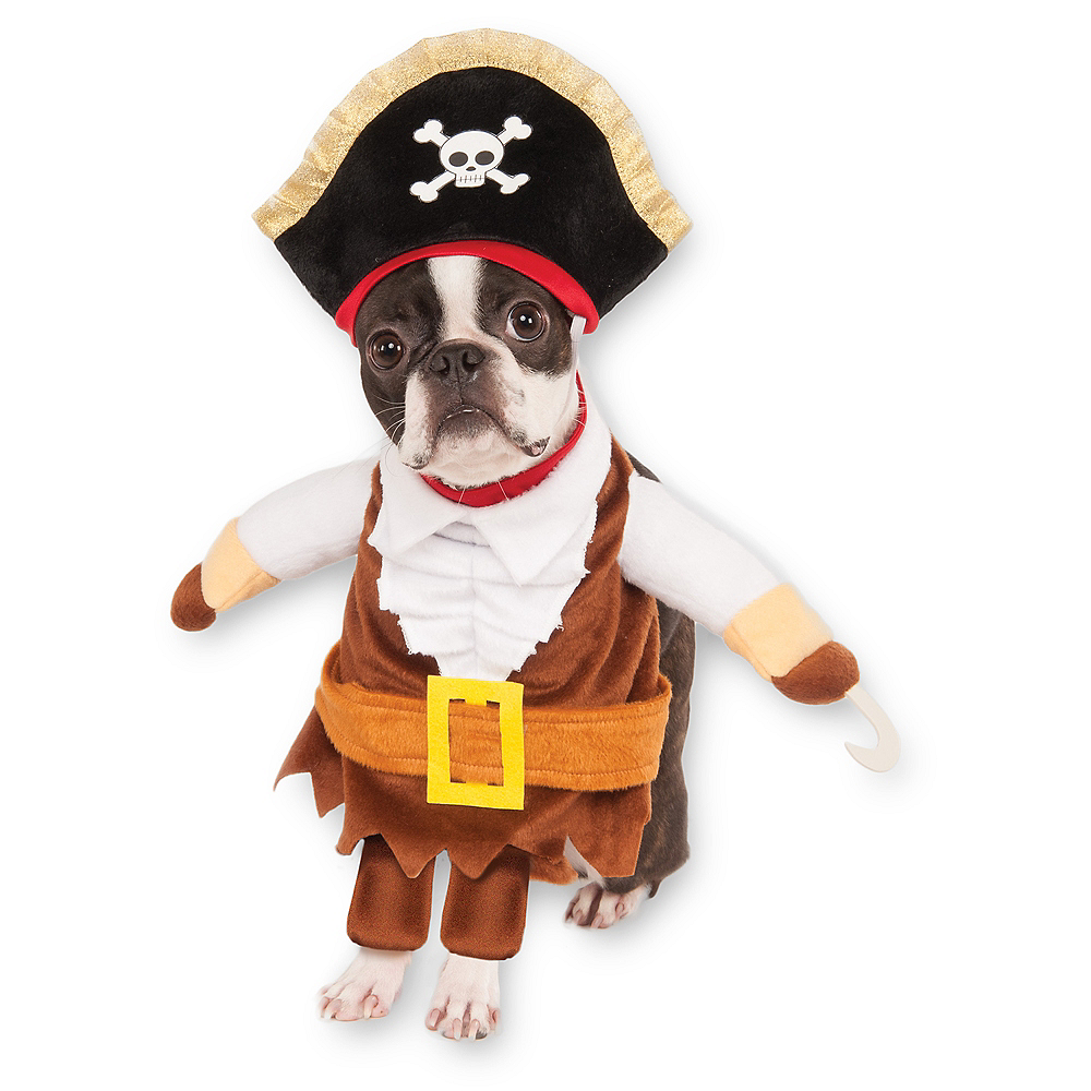 Walking Pirate Dog Costume Image #1