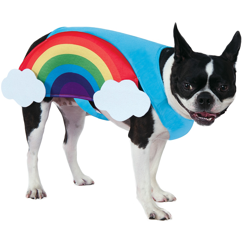 Rainbow Dog Costume Image #1