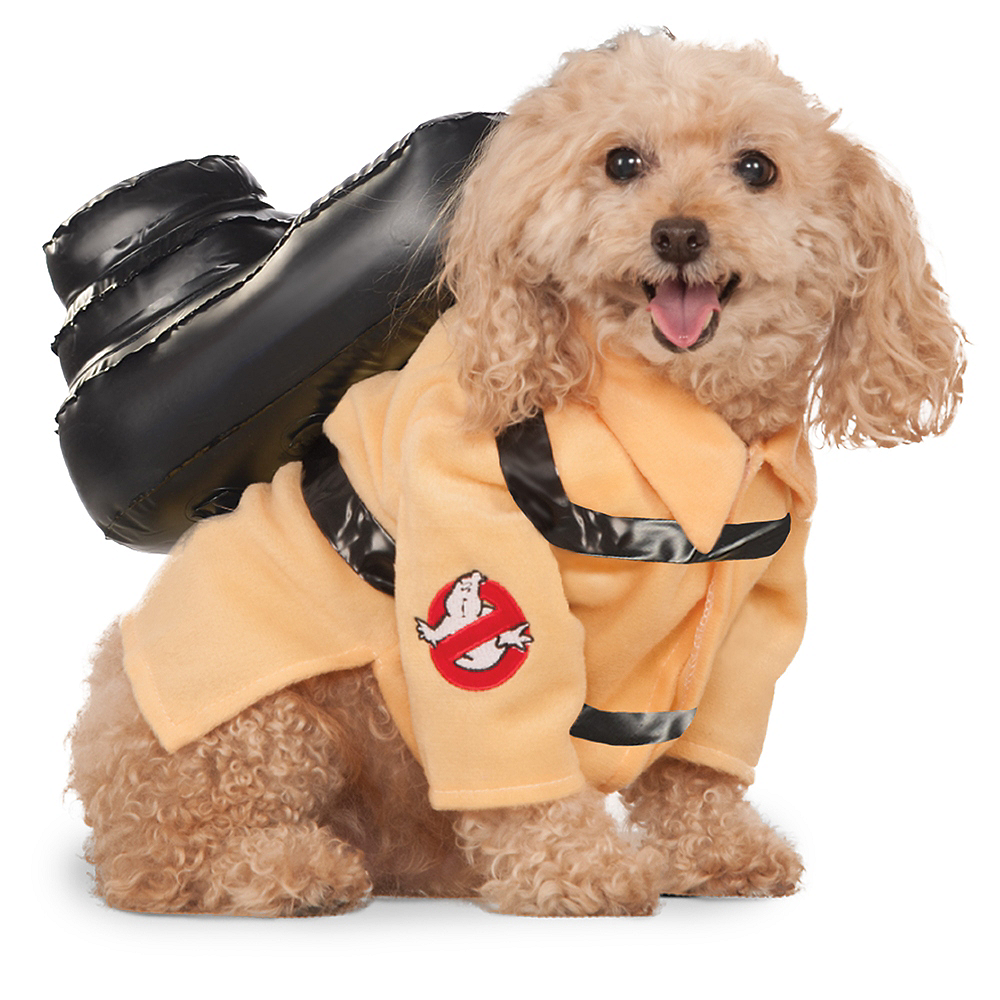 Ghostbusters Jumpsuit Dog Costume Image #1