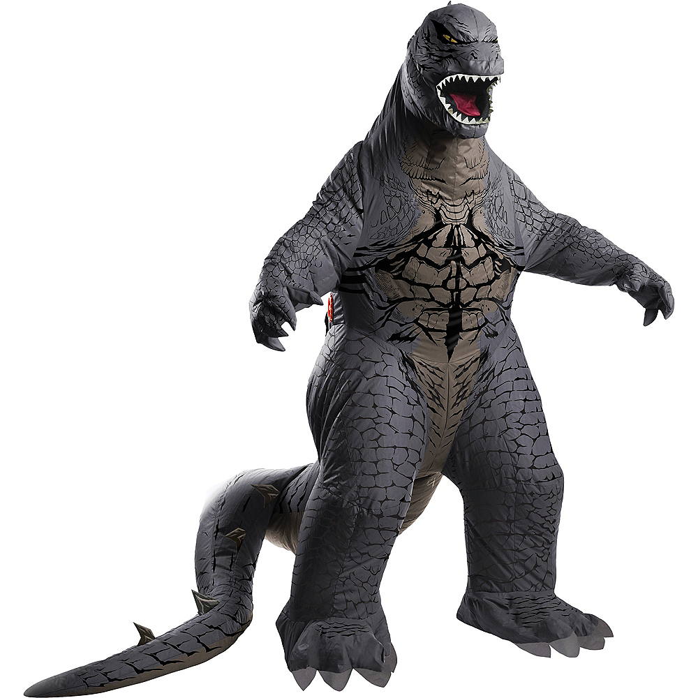 Adult Inflatable Godzilla Costume - Godzilla: King of the Monsters Image #1