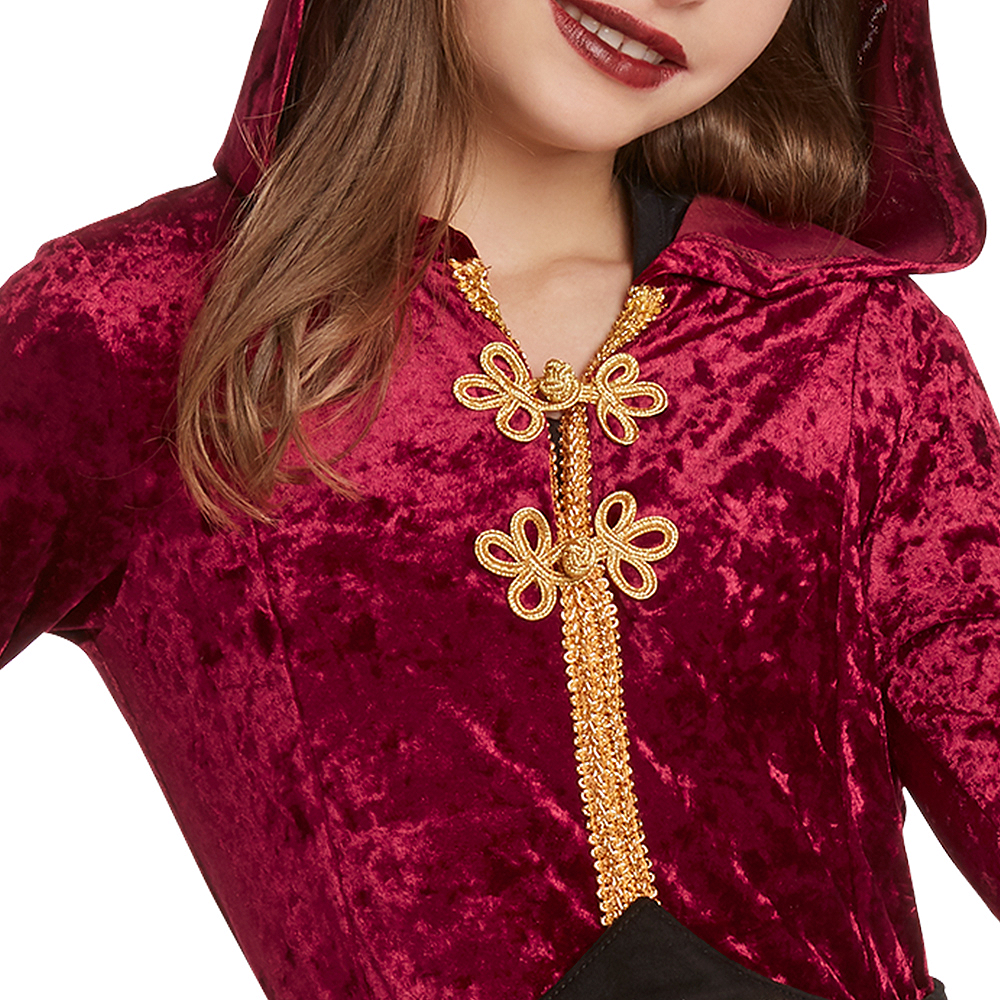 Child Hooded Witch Cloak Costume Image #3