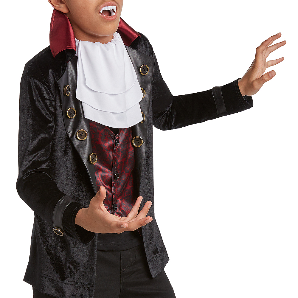 Child Velveteen Vampire Costume Image #2