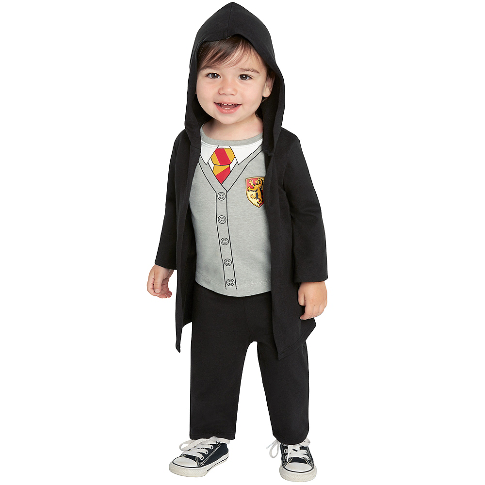 Nav Item for Baby Lil Hogs Wizard Costume - Harry Potter Image #3