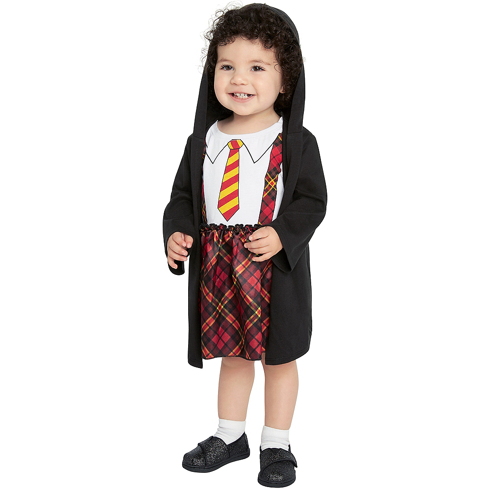 Baby Lil Plaid Wizard Costume Image #3