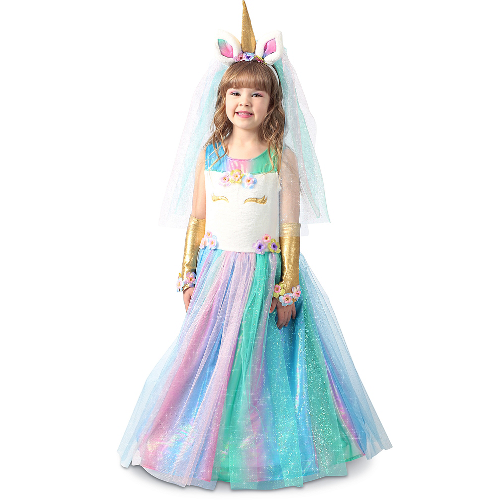 Child Lovely Lady Unicorn Costume Image #1