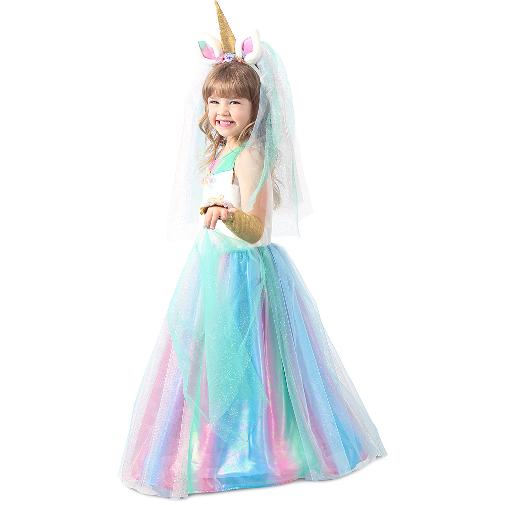 Child Lovely Lady Unicorn Costume Image #2