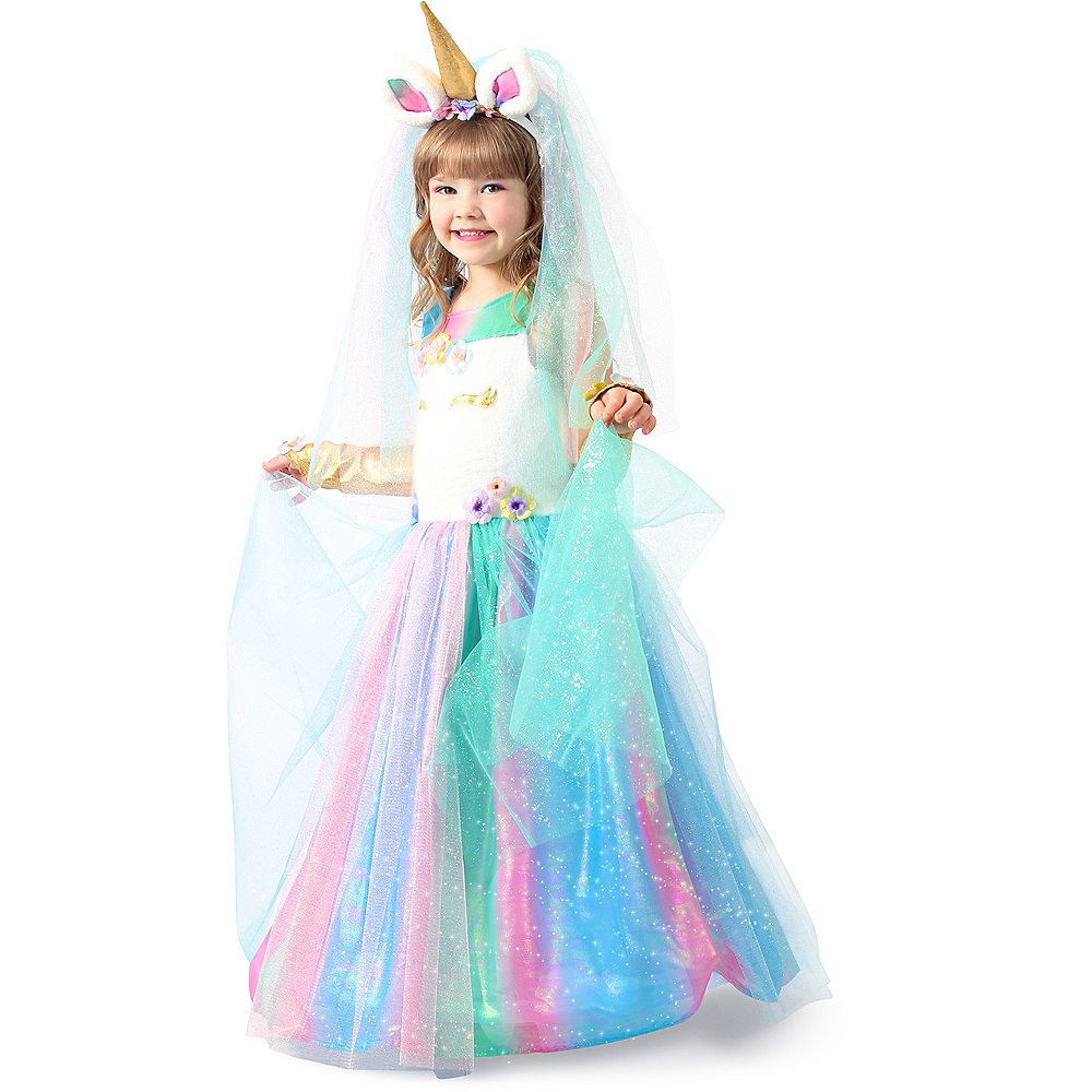 Child Lovely Lady Unicorn Costume Image #4