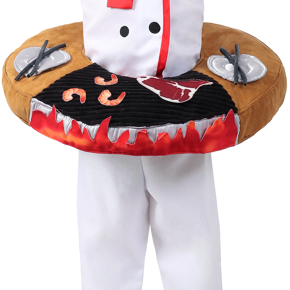 Child Hibachi Chef Costume Image #5