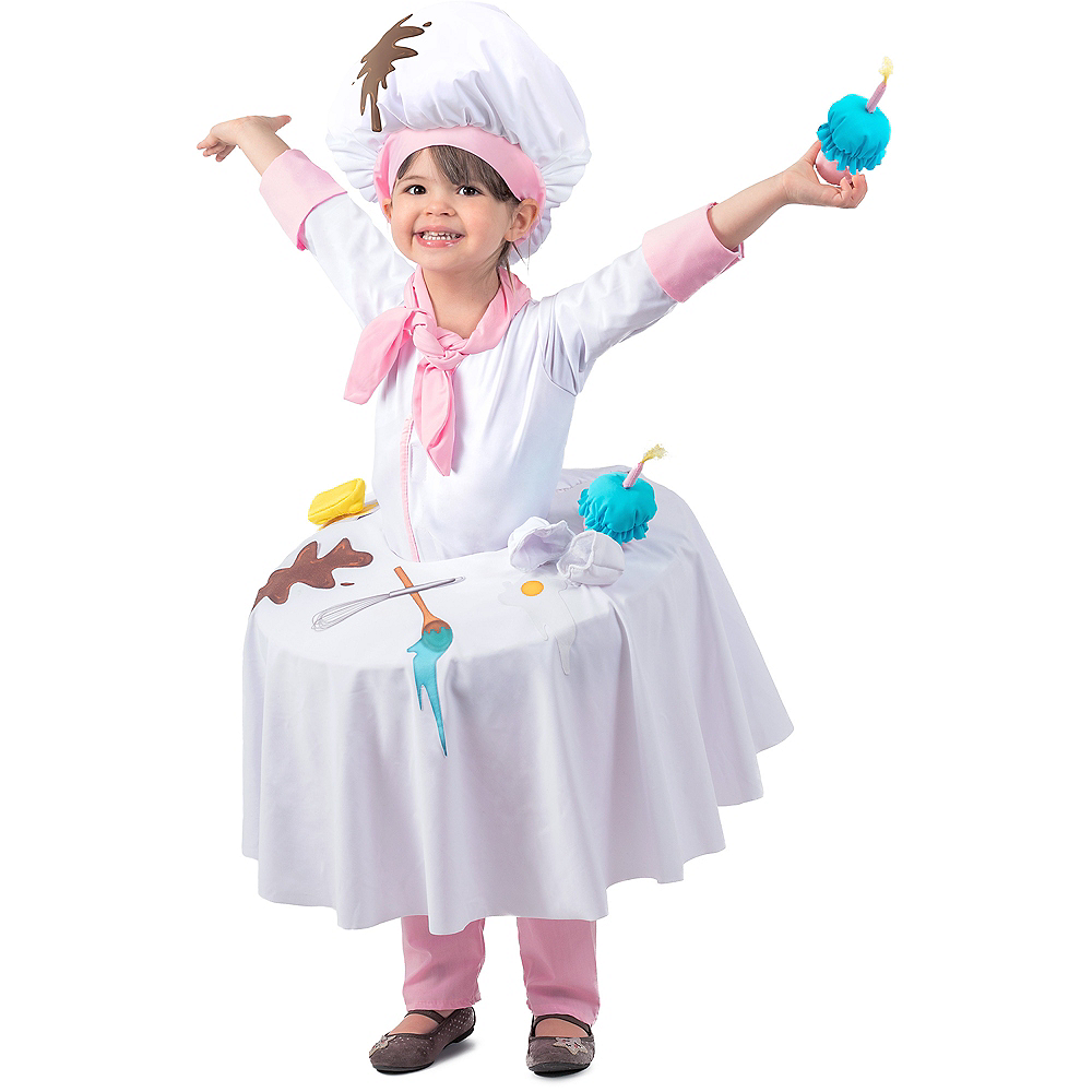Child Messy Baker Table Top Costume Image #1