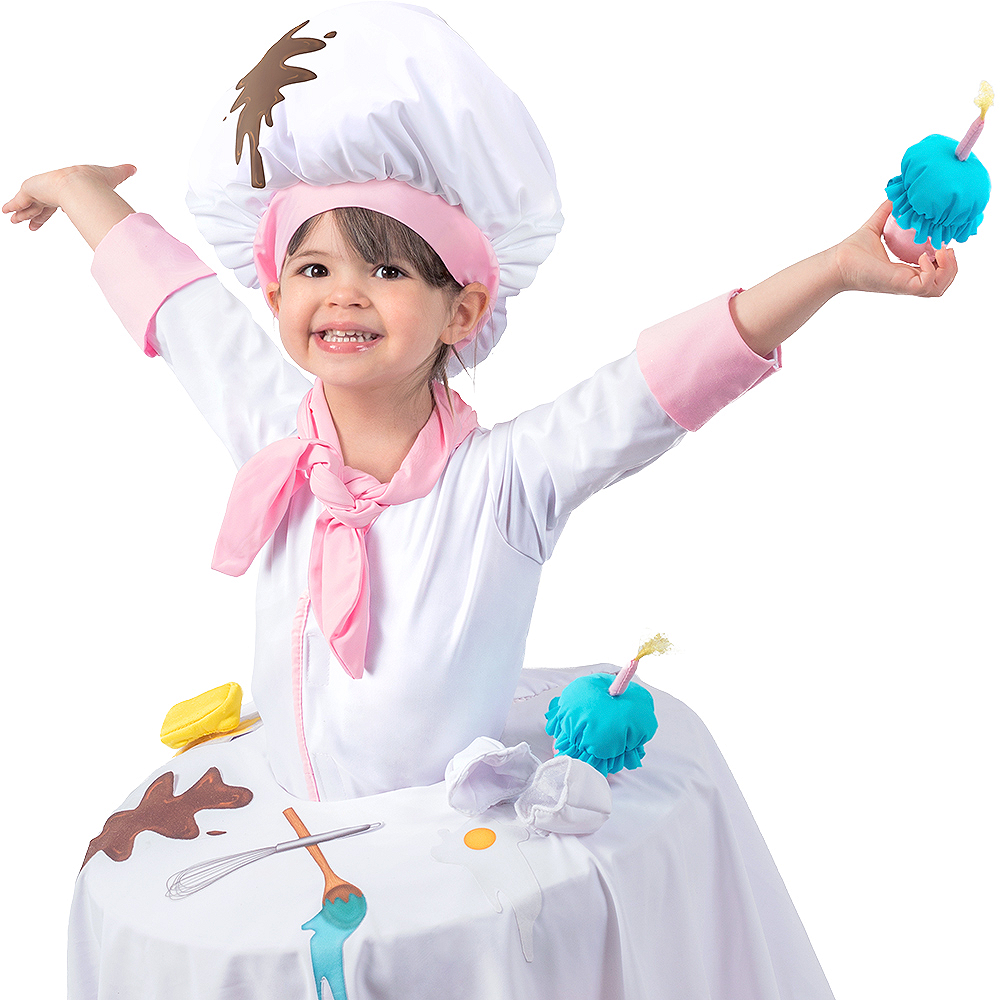 Child Messy Baker Table Top Costume Image #3