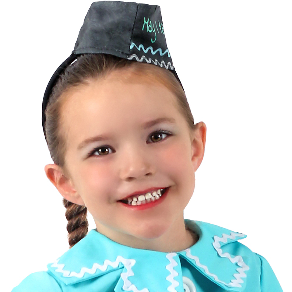 Nav Item for Child Diner Waitress Costume Image #2