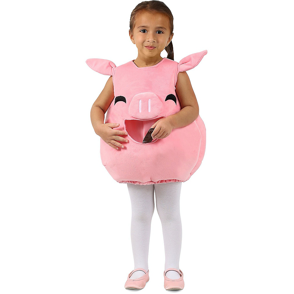 Child Feed Me Piggy Costume Image #1