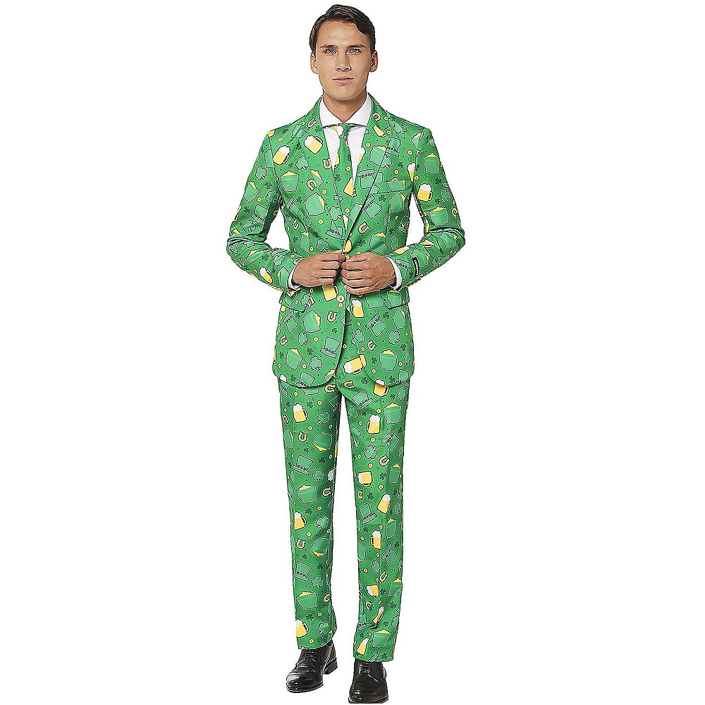 Nav Item for St. Patrick's Day Lucky Beer Suit Image #1