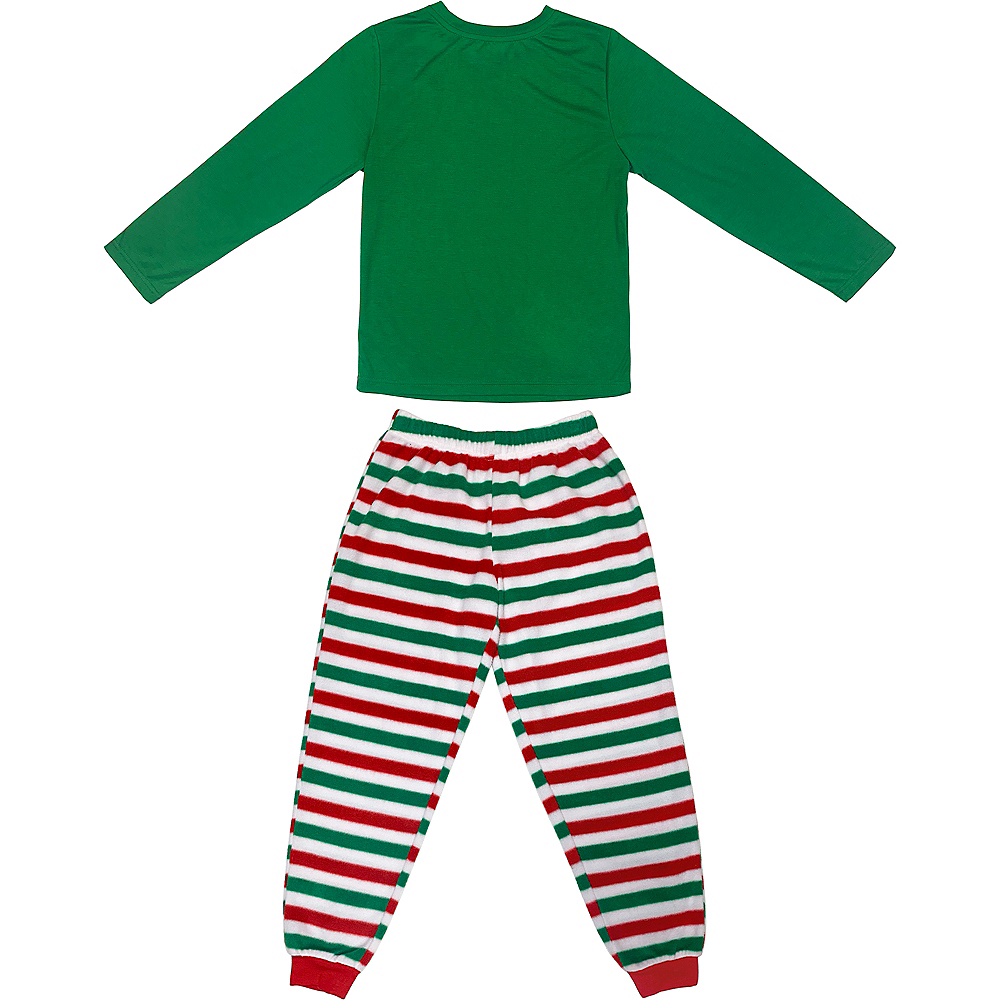 Child's Elf Pajamas Set 2pc Image #2