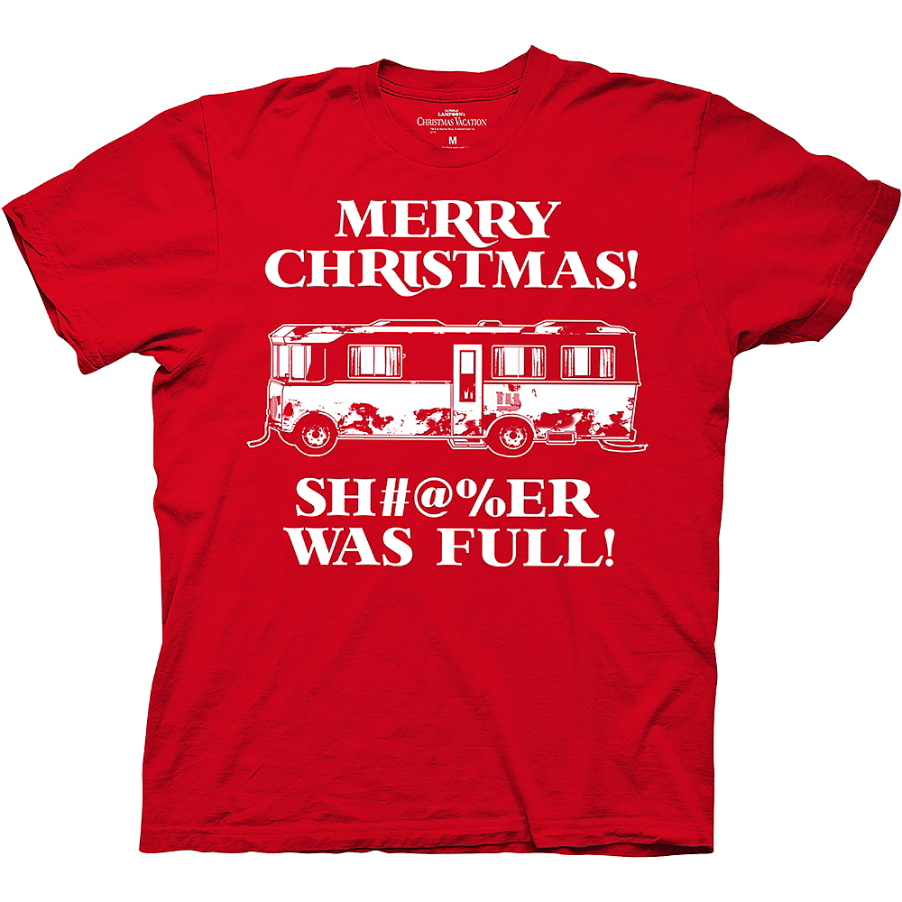 Merry Xmas SH#@%ER is Full Shirt - Christmas Vacation 2 Image #1