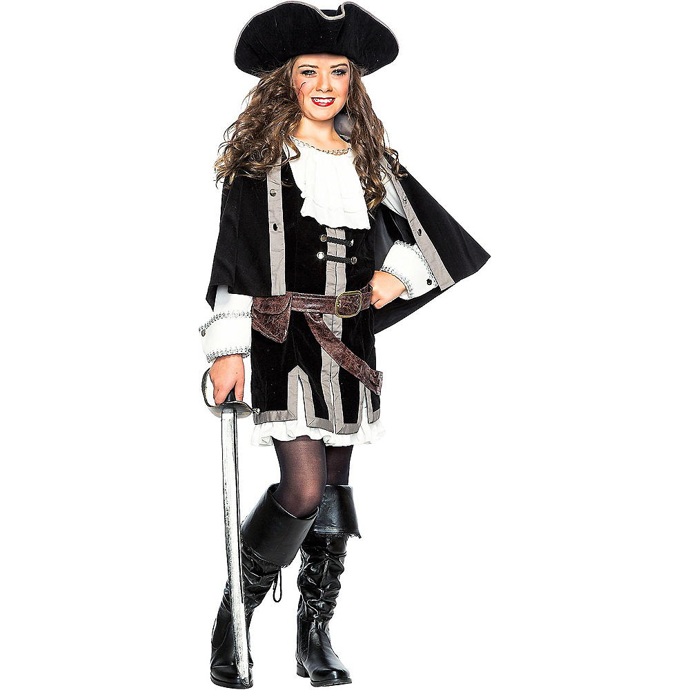 Nav Item for Child Sailor Captain Costume Image #1