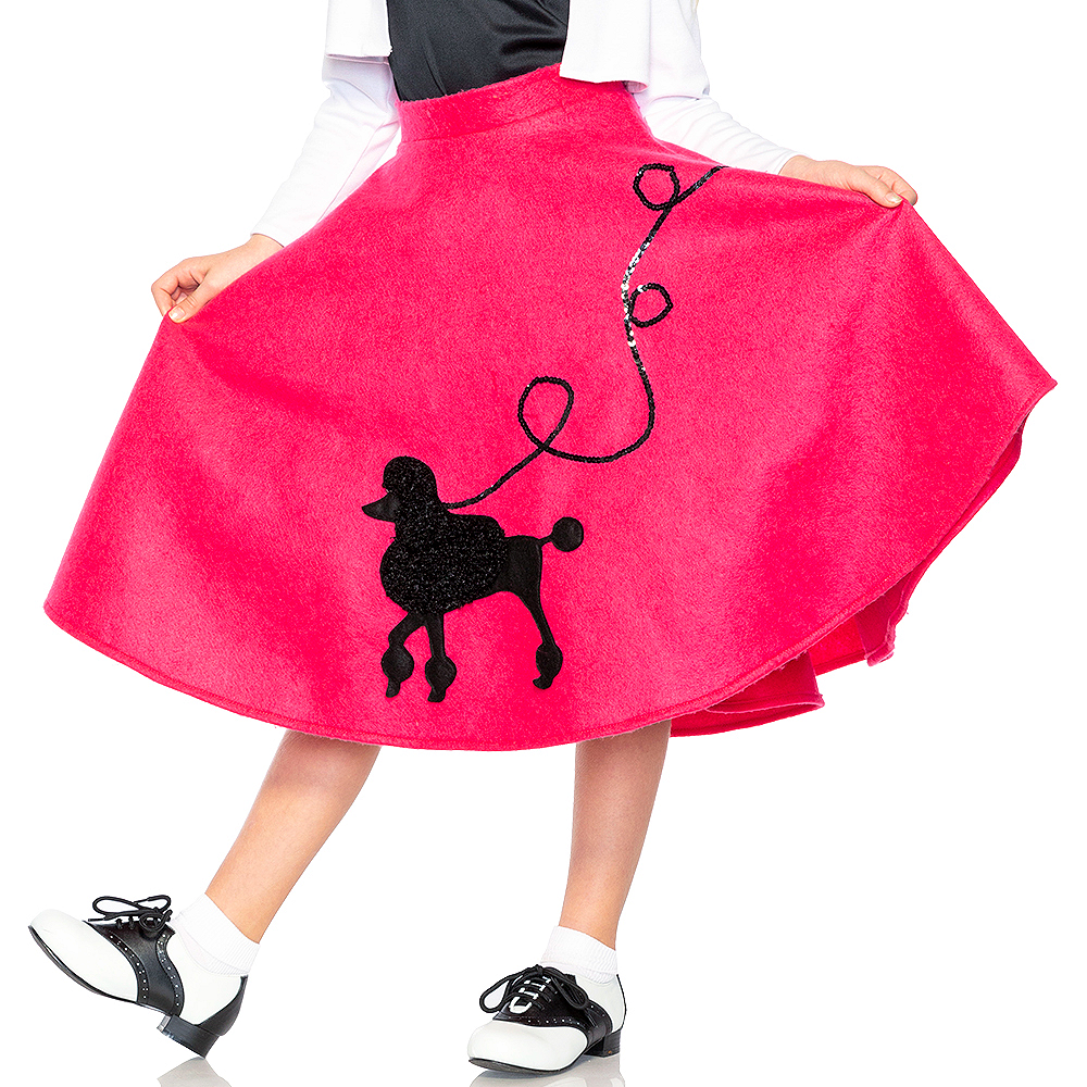 Child Poodle Skirt 50s Costume Image #4