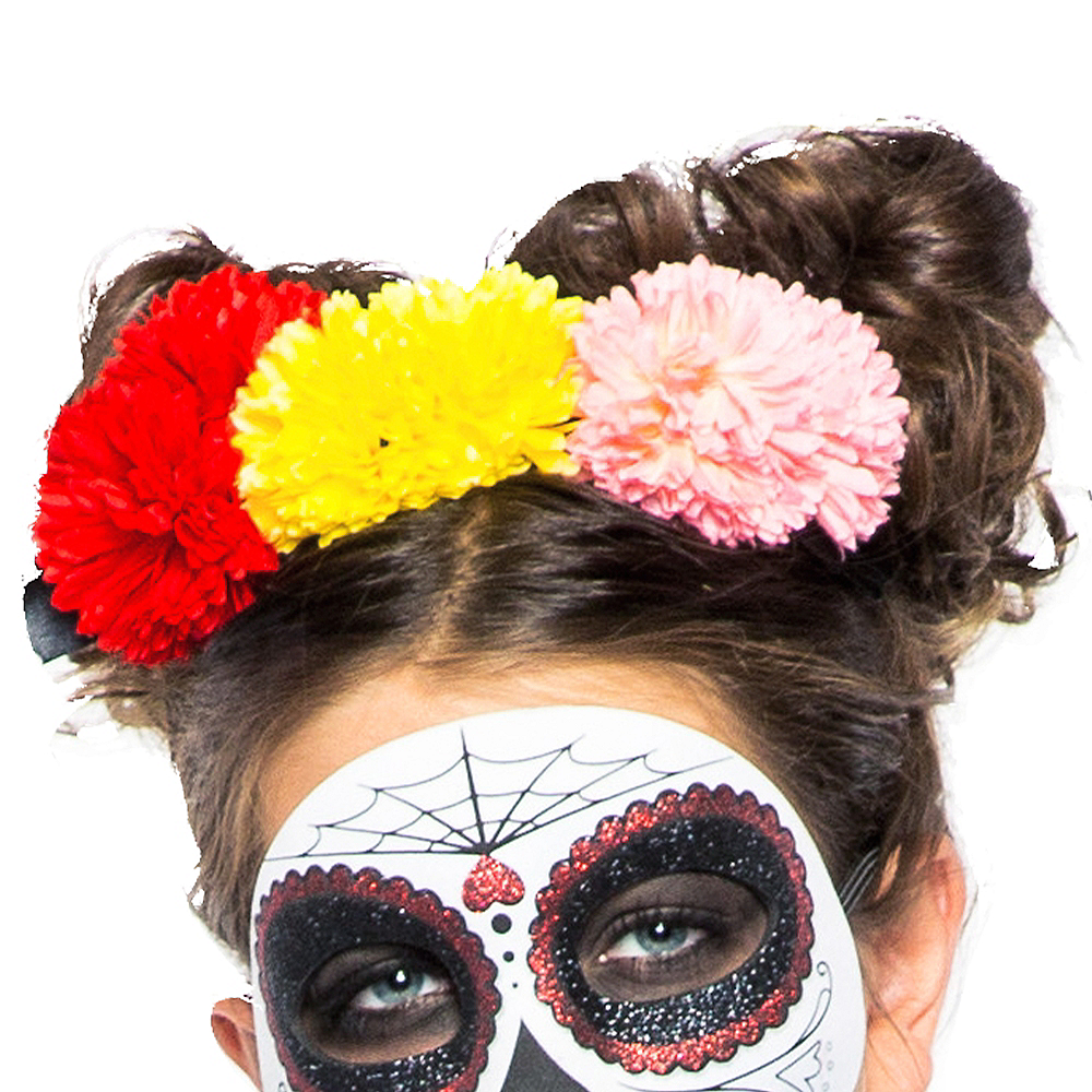 Child Lacy Day of the Dead Costume Image #2